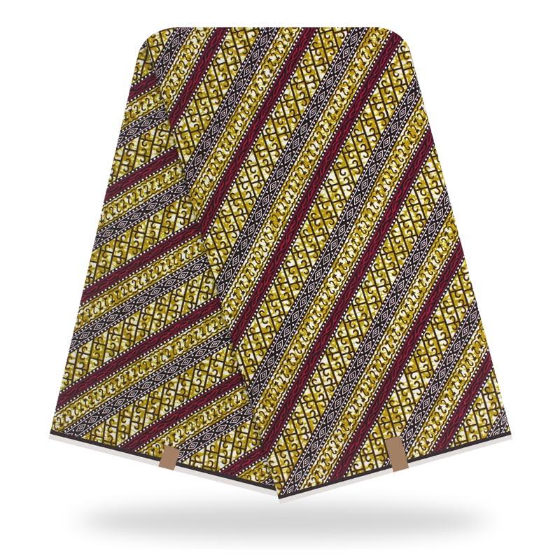 African Fabric Wax Print High Quality Veritable Wax Print Fabric 100% Cotton Wax African Veritable Real Dutch Wax For Dress