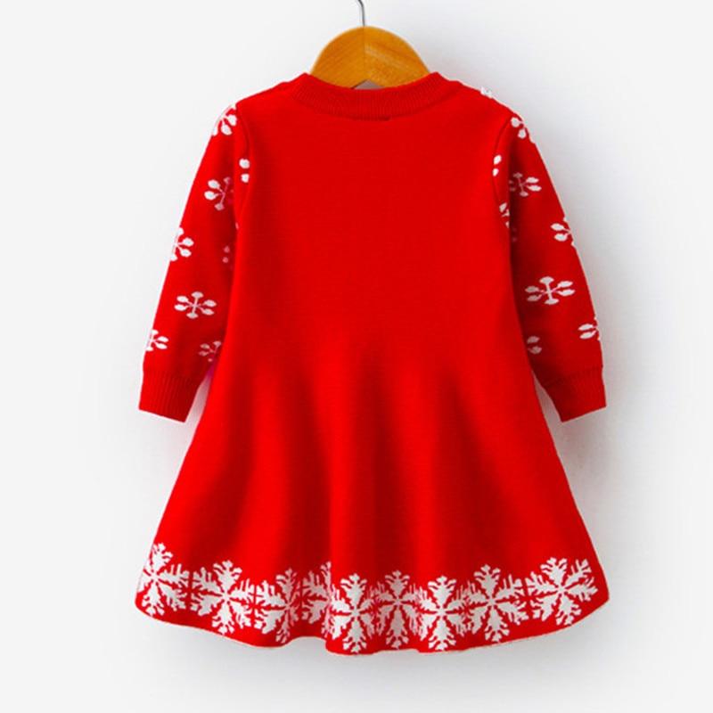 Full Sleeve Girls Dress Birthday Dresses for Kids Children's Clothing Christmas Dress for Girls Vestidos Kids Winter Clothing 2