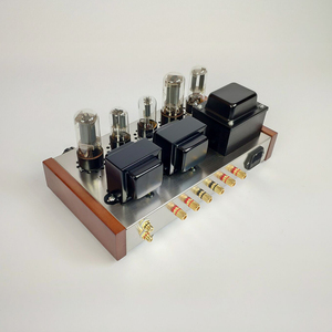 Image 3 - 2020 Nobsound Home Audioเครื่องขยายเสียงหลอดสแตนเลสสตีล5Z4P + 6H8C + 6P3Pติดตั้งหลอดเอาต์พุต8W + 8W AC110V/220V