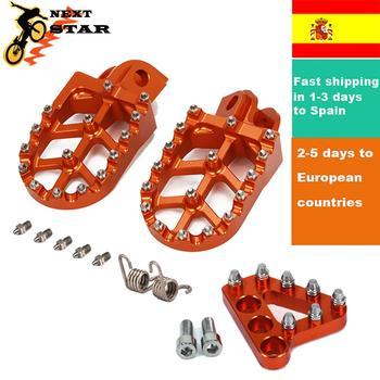 Envío rápido a España reposapiés clavijas pedales para KTM EXC SX XCF SXF XC XCW XCFW 65 85 125 150 200 250-550 990
