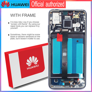 Image 3 - 100% Original Display mit Knuckle screenshot rahmen Fingerprint für Huawei P20 LCD Touch Screen EML L09 EML L22 EML L29 EML AL00
