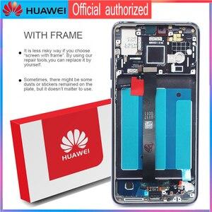 Image 3 - 100% Original Display with Knuckle screenshot frame Fingerprint for Huawei P20 LCD Touch Screen EML L09 EML L22 EML L29 EML AL00