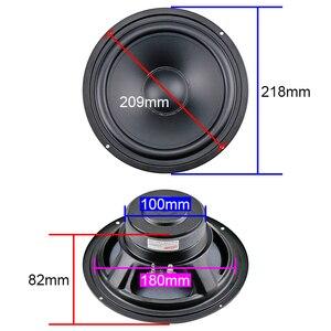 Image 4 - Ghxamp 8 インチ 218 ミリメートルスピーカーユニットミッドレンジ低音 8ohm 140 ワットホームシアタースピーカーマットコート紙トレイハイファイdiy 45 60hzの 1pc