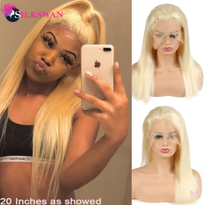 Pre Plucked Full Lace Human Hair Wigs Pre Plucked Bleached Knots Wigs Transparent Lace Wigs Straight Glueless Full Lace Wigs(China)