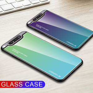Image 5 - Gradient Tempered Glass Case For Samsung Galaxy A50 A70 Note 10 9 8 S8 S9 S10 Plus S10e A 80 30S 40 20e A51 A71 Phone Case Cover