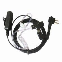 Güvenlik akustik hava tüp kulaklık kulaklık PTT taşınabilir radyo için Motorola Walkie Talkie GP300 GP308 GP2000 GP3688 GP3188 GP88