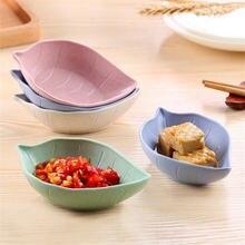 2 шт творческие Кухня Еда соус васаби блюдо многоцелевой лист