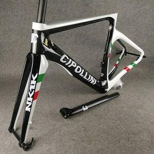T1000 3K Wereldkampioen Cipollini NK1K Disc Carbon Racefiets Frames Fiets Schijf Frameset RB1K De Een Met Xs/S/M/L/Xl