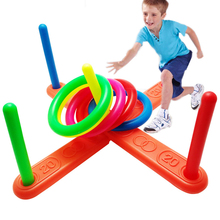 Toy Throwing-Ring Fitness-Toy Exercise-Equipment Educational Parent-Child Children's