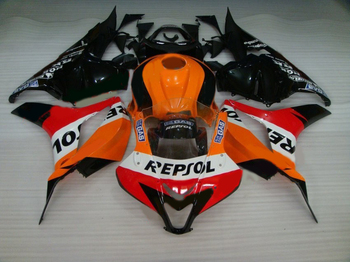 Injection molding Fairing kit for HONDA cbr600rr 2009-2012 orange black motorcycle fairings set CBR 600 RR 09 10 11 12 LK20