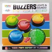Jouet éducatif en plastique, pour jeu familial, compétition, jeu questionnaire, sonneries, lumières et boutons, livraison gratuite