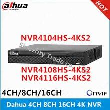 Dahua 4K Nvr NVR4104HS 4KS2 4CH & NVR4108HS 4KS2 8CH & NVR4116HS 4KS2 16ch Zonder Poe Network Video Recordernvr 4knvr 4chnvr 8ch