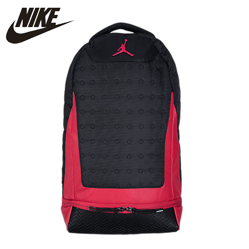 Nike Air Jordan Training Backpack Outdoor Hiking Bag Large Capacity Fashion School Bag AJ11 in Climbing Bags from Sports Entertainment
