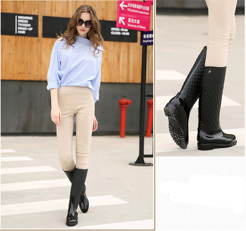 Rubber Shoes Women Mujer 8