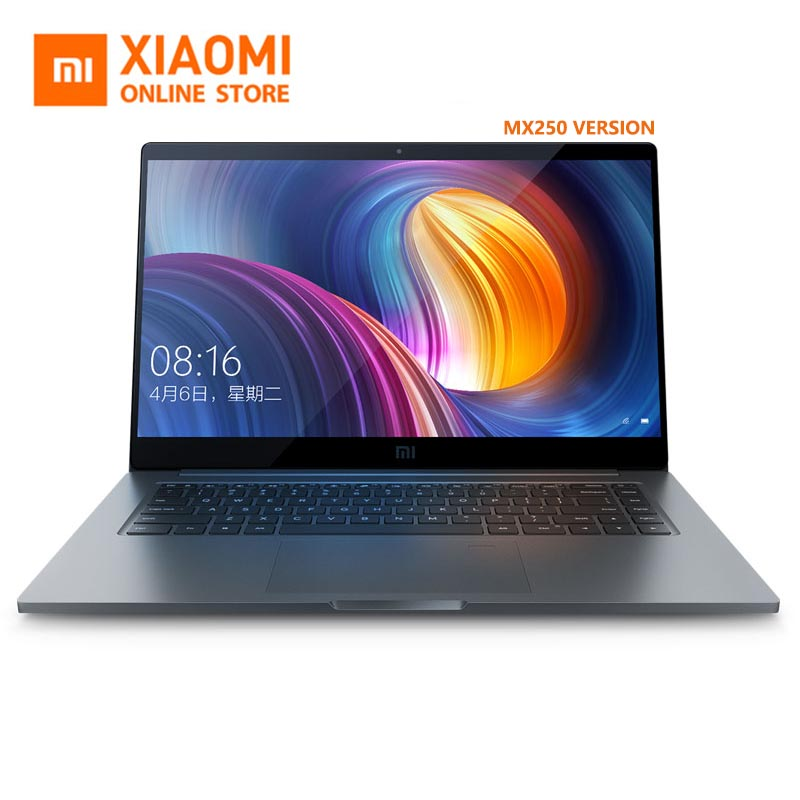 Newest Xiaomi Laptop 15.6 Pro 2019 MX250 GeForce Intel Color I5/i7 8GB Ram 256GB SSD Full Metal Body Windows 10 English In Stock