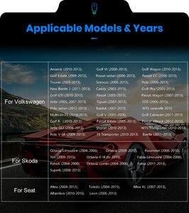 Автомобильный мультимедийный плеер Podofo 2Din, Android, gps, Авторадио для VW/Volkswagen/Golf/Passat/SEAT/Skoda/Polo