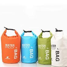 Водонепроницаемый сухой мешок для хранения Каякинг каноэ легкий мешок 2л 5л литр