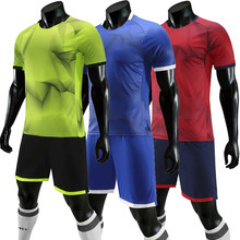 Adults Soccer Jerseys Set Men's 2020 Survetement Football Kits Custom Men Soccer Uniforms Sets Futbol Training Sport Suit(China)