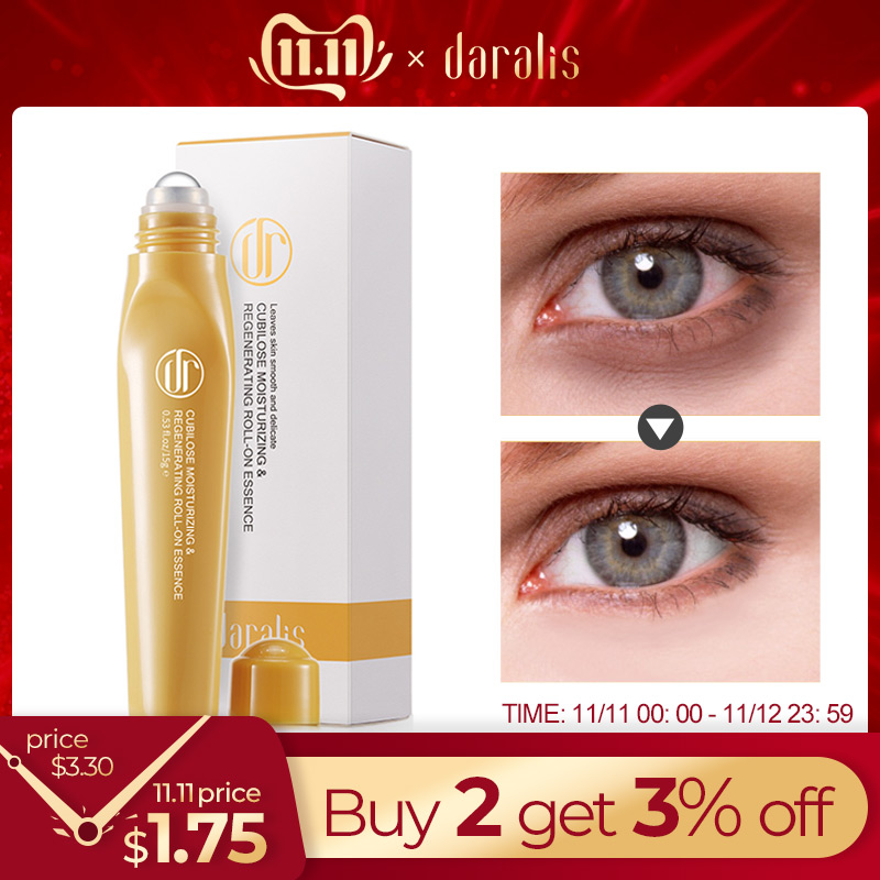 Daralis Swallow Nest Eye Serum Anti Wrinkle Anti-puffiness Eye Essence Dark Circles Remover Serum Under The Eyes Eye Skin Care