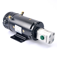 24V 4KW high torque dc electric motor ZD2973H WITH GEAR PUMP