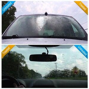 Image 4 - 100ml płyn przeciwdeszczowy szkło samochodowe odstraszacz komarów w sprayu Super hydrofobowy powłoka ceramiczna Nano wodoodporne czyszczenie szyb samochodowych