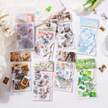 Journamm 30 шт. Ins стиль цветы простота Diy альбом телефон стикер ноутбук Скрапбукинг натуральный декоративный канцелярский стикер s