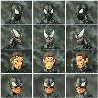 Black Spider Man Symbiote Action Figure 6Inch 2