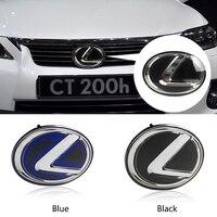Auto Tailgate Vorne Emblem Für Lexus IS200 IS250 IS300 CT200H ES200 ES300 GS300 GS350 GX470 RX400 RX450 NX200 Aufkleber Umrüstung-in Embleme aus Kraftfahrzeuge und Motorräder bei