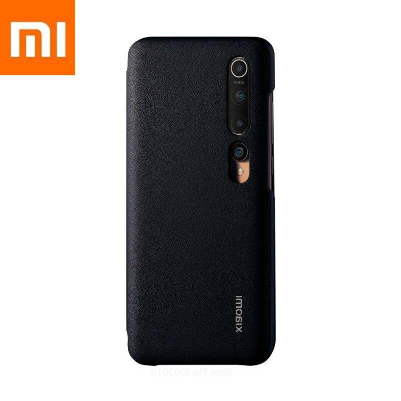 Original Xiaomi Mi 10 Case Phone Casing Smartphone Xiomi  Logo Protective Shell 100million Pixels PU Side Flap 12GB256GB6.67inch
