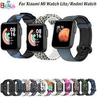 Correa de silicona para XiaoMi Mi Watch Lite/Redmi, pulsera deportiva Original de repuesto
