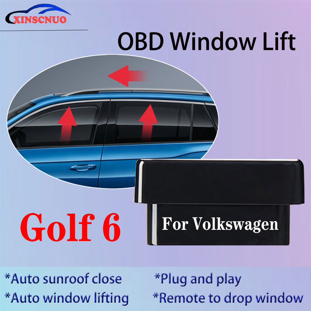 Auto Window Closer For Volkswagen VW Golf 6 / Golf 7 2011-2014 Vehicle Glass OBD Automatic Sunroof O
