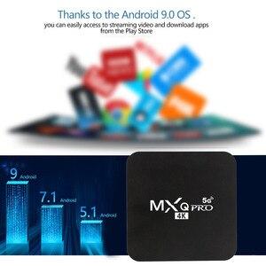 Image 3 - MXQ pro 4K Android 7.1 akıllı kutu 4K HD 3D 2.4G WiFi S905W dört çekirdekli medya oynatıcı akıllı tv android tv kutusu 2GB 16GB Android TV kutusu