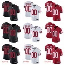 Быстрая Сан-Франсиско Высокое качество Мужские 49ers пользовательские Джерси