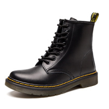 New Ankle Martens Boots For Men Genuine Leather Women Boots Casual Dr. Motorcycl