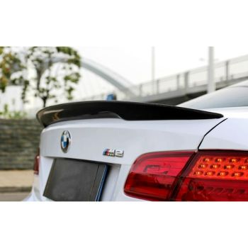 For BMW E92 3 Series 2 Door E92 M3 carbon fiber / FRP Spoiler P Style 2005 - 2012 image