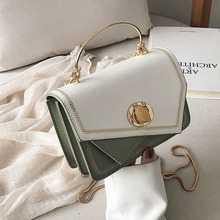 купить 2019 New Crossbody Bag Handbags Women Chain Mini Hit Color Shoulder Bag PU Leather Small Messenger Bag Womens  Purses Clutch Bag по цене 1636.75 рублей