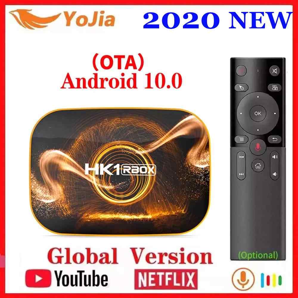 2020 Smart TV Box Android 10 4GB di RAM 64GB ROM Android 10.0 TVBOX 4K Media Player USB3.0 set Top Box 2G16G Netflix Youtube