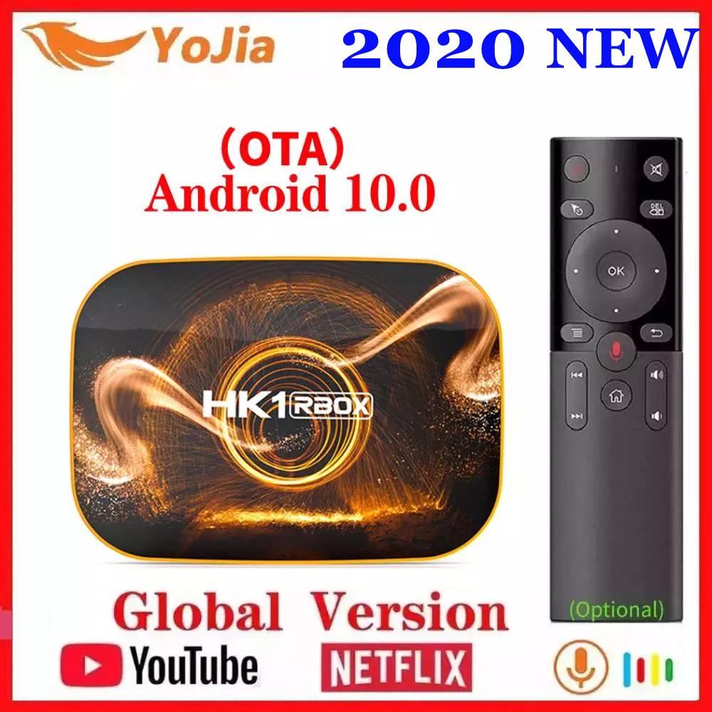 2020 Smart TV Box Android 10 4GB RAM 64GB ROM Android 10.0 TVBOX 4K Media Player USB3.0 Set Top Box 2G16G Netflix Youtube