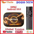 2020 Smart TV Box Android 10 4GB RAM 64GB ROM Android 10 0 TVBOX 4K Media Player USB 3 0 Youtube Set Top Box 2G16G PK H96 X96 MAX-in Digitalempfänger aus Verbraucherelektronik bei
