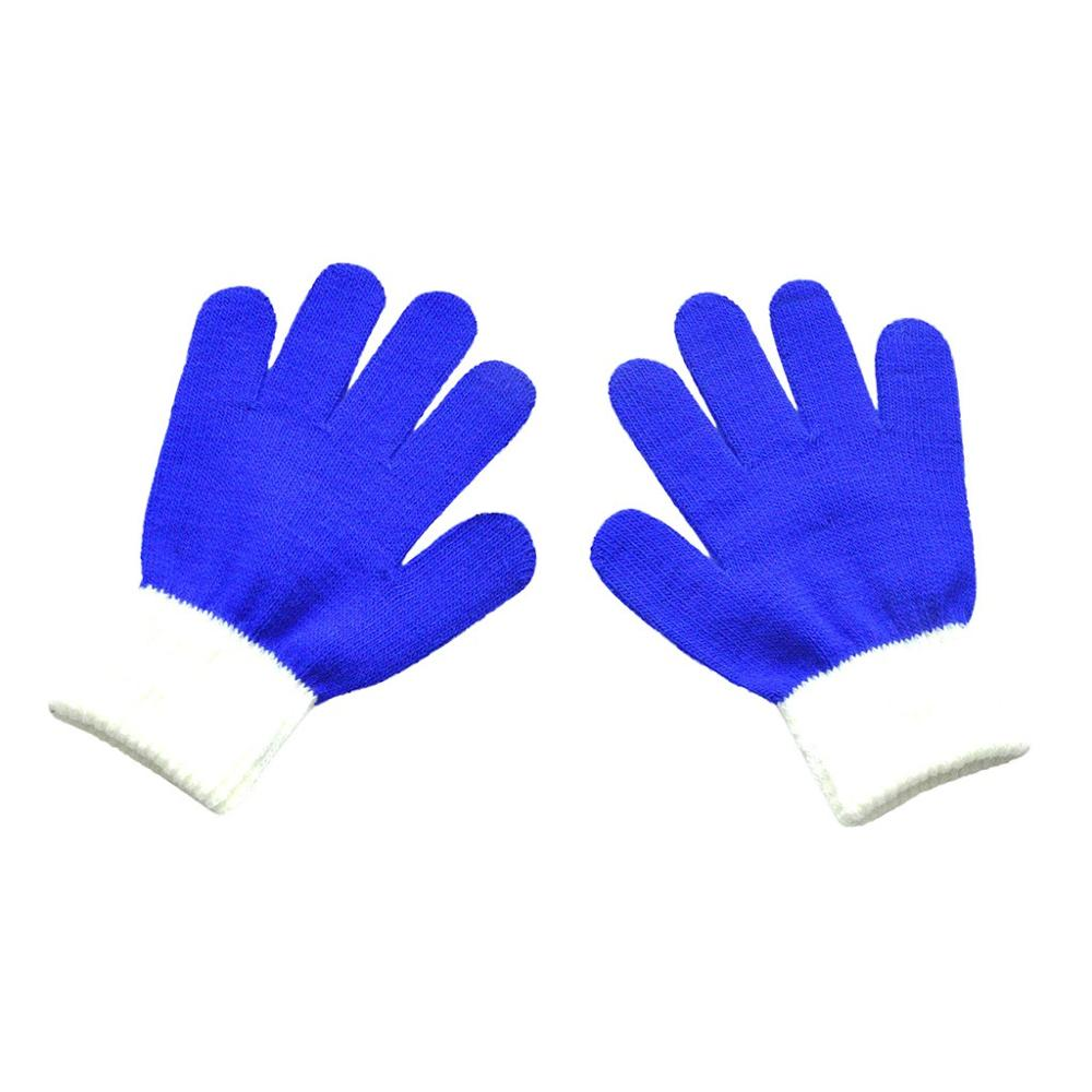 Baby toddler Magic Knitted Gloves.