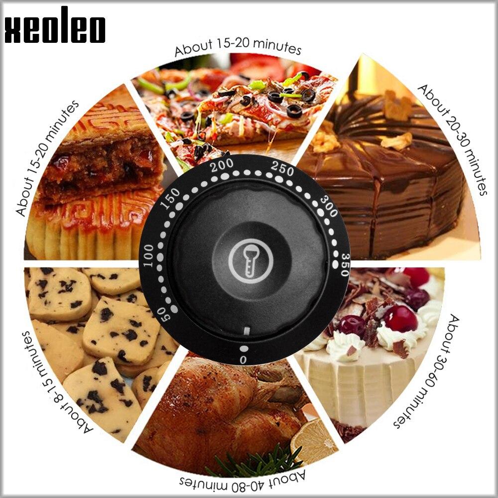 XEOLEO horno de Pizza máquina horno de pan horno eléctrico comercial de acero inoxidable hornos eléctricos con pizarra 220/380V 4200W - 3