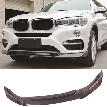 Carbon fiber Front Lip Spoiler Standard model Fit For BMW X6 F16 image