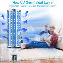 60W LED UV Germicidal Lamp UVC Smart Bulb For Home Remote Control Disinfection Lamp Light E27 LED Ultraviolet Light kill 99.99% - DISCOUNT ITEM  24% OFF Lights & Lighting