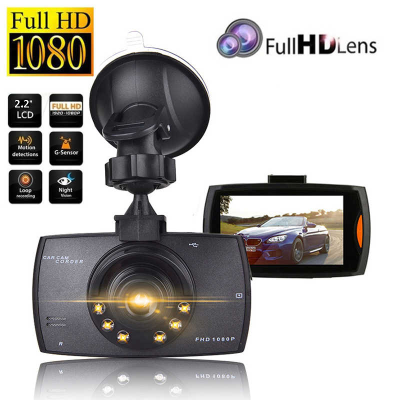 "G30 Mengemudi Perekam Mobil DVR Dash Kamera Full HD 1080P 2.2 ""Siklus Perekaman Malam Visi Wide Angle Dashcam video Registrar"