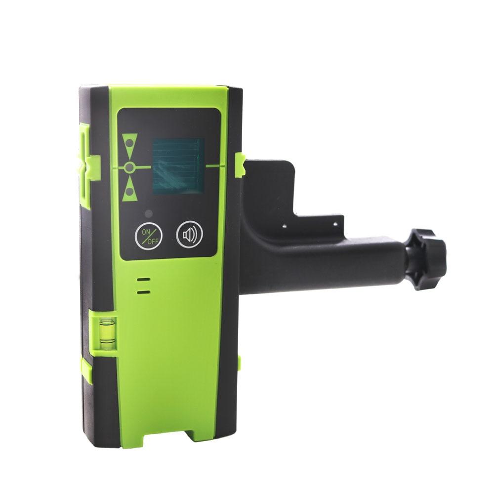 Modo de Pulso Verde ao ar Detector de Feixe de Laser de Nível de Linha de Laser Vertical e Horizontal Fukuda Vermelho Livre Receptor ou