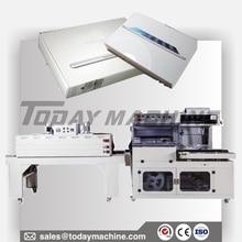 Semi Automatic POF PE Film Box Case Book Bottle Heat L Sealing Shrink Wrap Packaging Machine