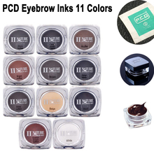 Ink-Pigment Make-Up-Tattoo-Kit Professional Eyebrow-Lip 11-Colors for Bottles Square
