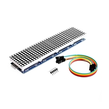 цена на Max7219 4 In 1 Display Microcontroller 5P Line Module Fit For Arduino Dot Matrix