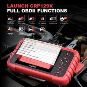 Image 4 - 起動X431 CRP129X自動車OBD2スキャナー車診断ツール自動車コードリーダーobdii creader 129X pk CRP129