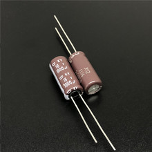 10pcs 1000uF 16V ניפון NCC KY סדרת 8x20mm נמוך ESR 16V1000uF אלומיניום אלקטרוליטי קבלים
